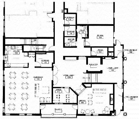 Peter nasseff home floor plan for common area for Area of a floor plan